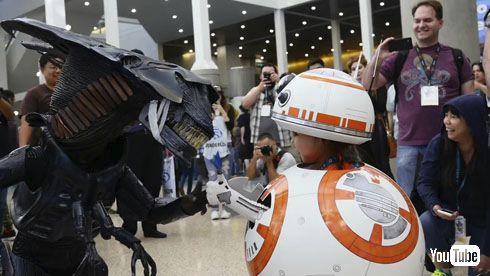 予想を超えた3Dプリンター製BB-8